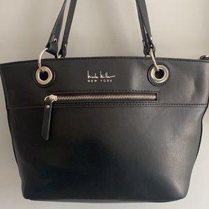 Nicole Miller New York Black Shoulder Bag EUC